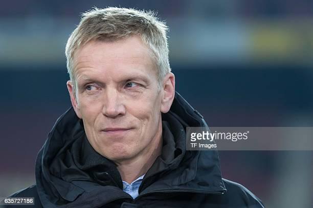 Jan Schindelmeiser of Stuttgart looks on during the Second Bundesliga match between VfB Stuttgart and Hannover 96 at MercedesBenz Arena on December...