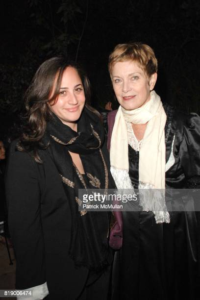 Jan Sharp and Allison Gorsuch attend Launch of AM Aleim Magazine at Private Resident on May 1 2010 in Los Angeles CA