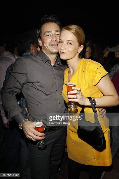 Jan Sosniok Doreen Jacobi Bei Der 'Tele 5 Director'S Cut Night' In Der Puro Sky Lounge Bei Der 60 Berlinale In Berlin