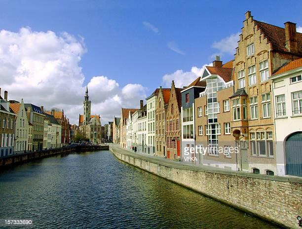 Jan van Eyckplein, Bruges, Belgium