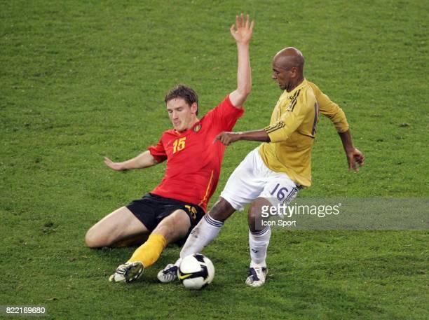 Jan VERTONGHEN / Marcos SENNA Belgique / Espagne Qualifications Coupe du Monde 2010