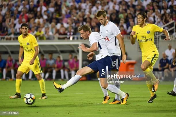 Jan Vertonghen of Spurs during the International Champions Cup match between Paris Saint Germain and Tottenham Hotspur on July 22 2017 in Orlando...