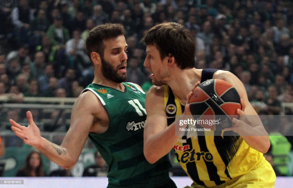 Panathinaikos Superfoods Athens v Fenerbahce Istanbul - Turkish Airlines Euroleague Play Off Leg Two