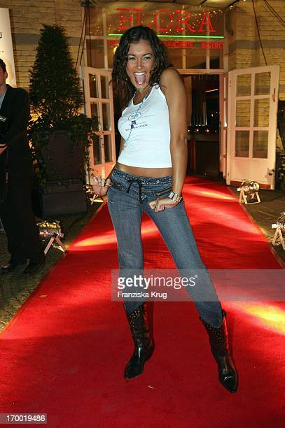 Jana Ina Berenhauser In The Media Meeting 'Square One' In The Flora Cologne