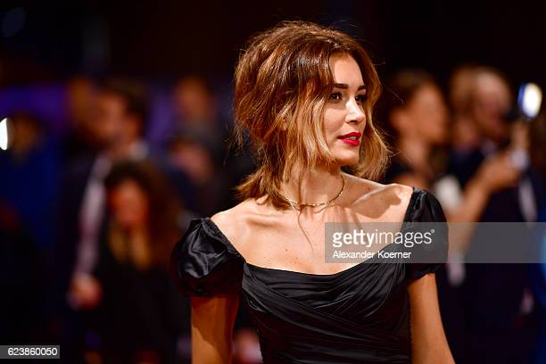 Jana Ina Zarrella arrives at the Bambi Awards 2016 at Stage Theater on November 17 2016 in Berlin Germany