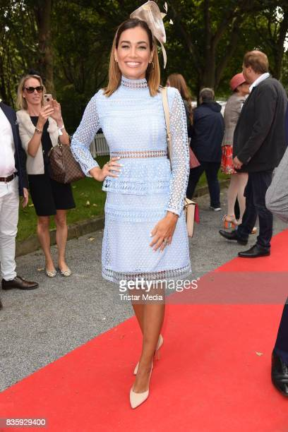 Jana Ina Zarrella during the Audi Ascot Race Day 2017 on August 20 2017 in Hanover Germany