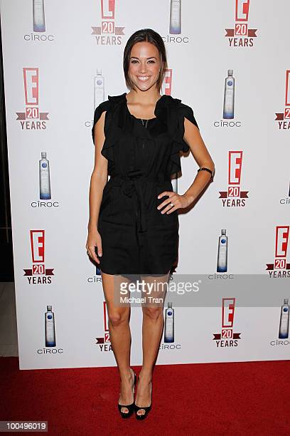 Jana Kramer arrives to E 20th Birthday Celebration held at The London Hotel on May 24 2010 in West Hollywood California