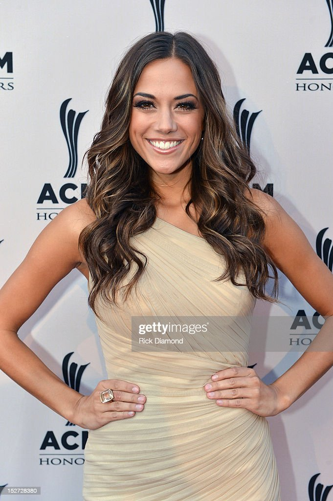 Jana Kramer attends the 6th Annual ACM Honors at Ryman Auditorium on September 24 2012 in Nashville Tennessee