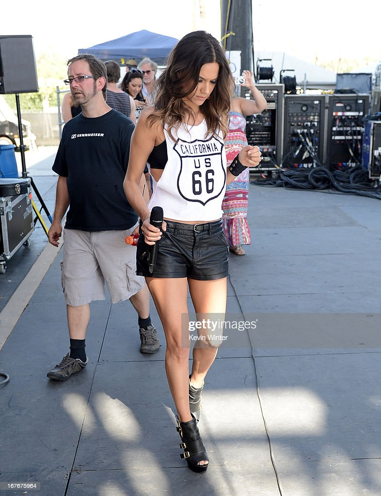 Jana Kramer backstage during 2013 Stagecoach: California's Country Music Festival held at The Empire Polo Club on April 27, 2013 in Indio, California.