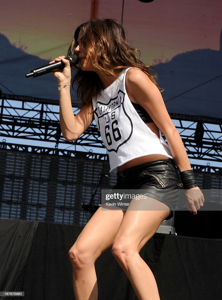 Jana Kramer performs onstage during 2013 Stagecoach: California's Country Music Festival held at The Empire Polo Club on April 27, 2013 in Indio, California.