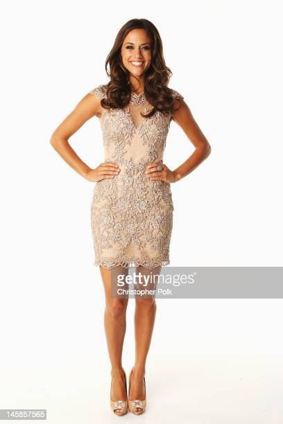 Jana Kramer poses in the Wonderwallcomcom Portrait Studio during 2012 CMT Music awards at the Bridgestone Arena on June 6 2012 in Nashville Tennessee