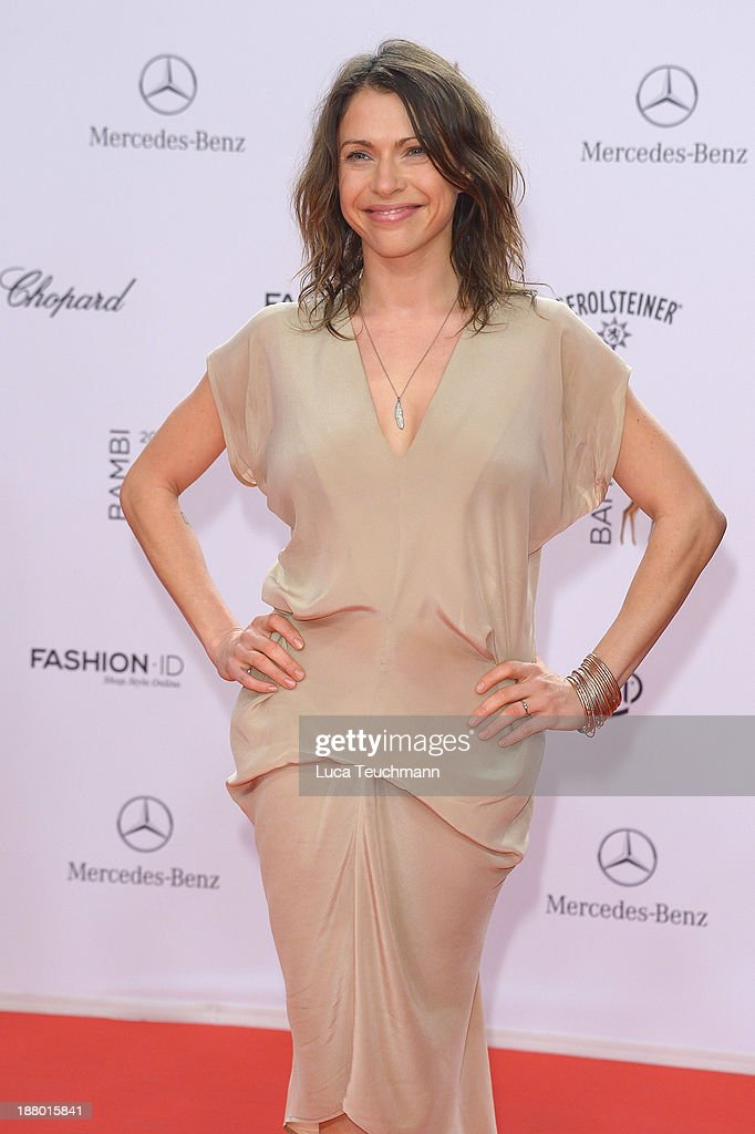 <a gi-track='captionPersonalityLinkClicked' href=/galleries/search?phrase=Jana+Pallaske&family=editorial&specificpeople=2106638 ng-click='$event.stopPropagation()'>Jana Pallaske</a> attends the Bambi Awards 2013 at Stage Theater on November 14, 2013 in Berlin, Germany.