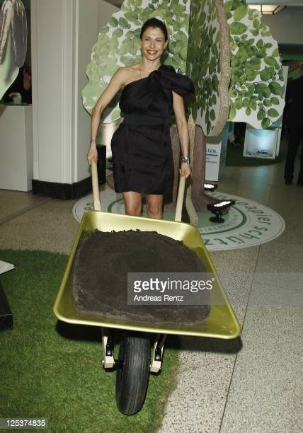 Jana Pallaske attends the Clean Tech Media Award 2011 at Curio house on September 16 2011 in Hamburg Germany