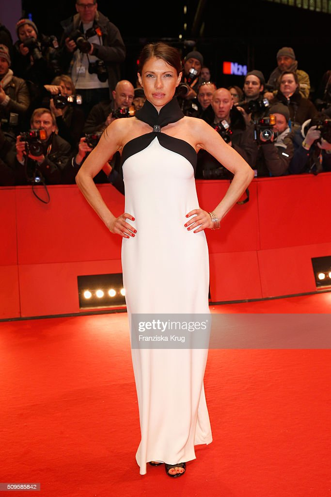 Jana Pallaske attends the 'Hail, Caesar!' premiere during the 66th Berlinale International Film Festival Berlin at Berlinale Palace on February 11, 2016 in Berlin, Germany.