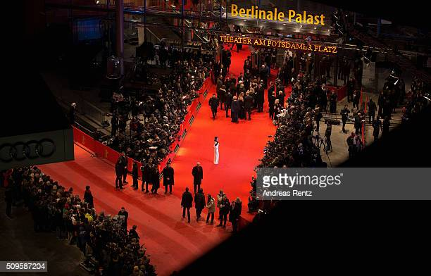 Jana Pallaske attends the 'Hail Caesar' premiere during the 66th Berlinale International Film Festival Berlin at Berlinale Palace on February 11 2016...