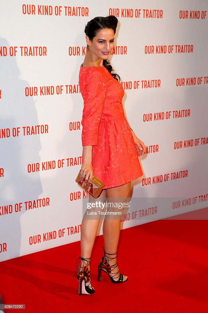Jana Perez arrives for the UK Gala of 'Our Kind Of Traitor' at The Curzon Mayfair on May 5, 2016 in London, England.