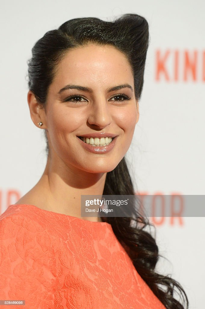 Jana Perez arrives for the UK Gala Screening of 'Our Kind Of Traitor' at The Curzon Mayfair on May 5, 2016 in London, England.