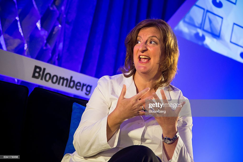 Jana Rich, founder and chief executive officer at Rich Talent Group, speaks during the Bloomberg Breakaway Summit in New York, U.S., on Wednesday, May 25, 2016. At the inaugural event, participants will hear from corporate leaders investors and government officials on the most crucial issues that impact their ability to find new markets, win over investors, recruit top talent, protect data, and more. Photographer: Michael Nagle/Bloomberg via Getty Images