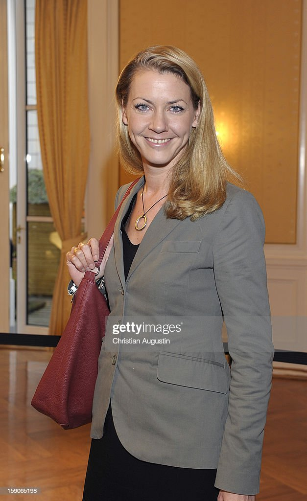 Jana Schiedek (Hamburg senator of justice) attends New Years`s reception of Hamburger Abendblatt at Hotel Atlantic on January 7, 2013 in Hamburg, Germany.