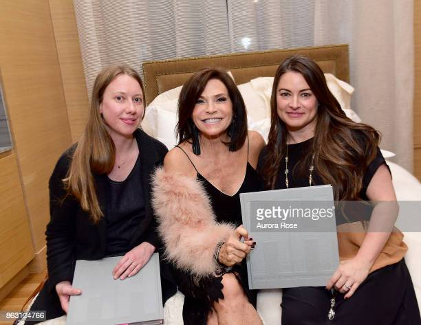 Jana Weill Iris Dankner and Cheryl Settino Mosher attend Iris Dankner and Frette Celebrate The KickOff Of Holiday House NYC And The Release Of The...