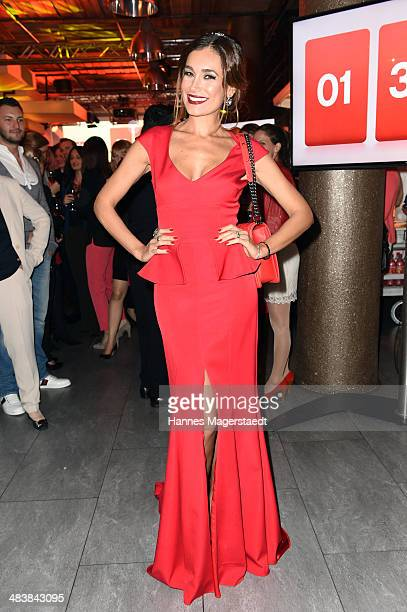 JanaIna Zarrella attends the TLC Station Launch Party on April 10 2014 in Munich Germany