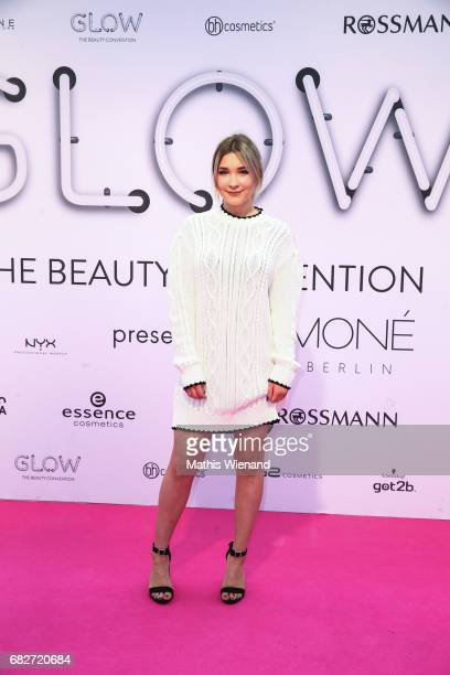Janas Diary attends the GLOW The Beauty Convention on May 13 2017 in Duesseldorf Germany