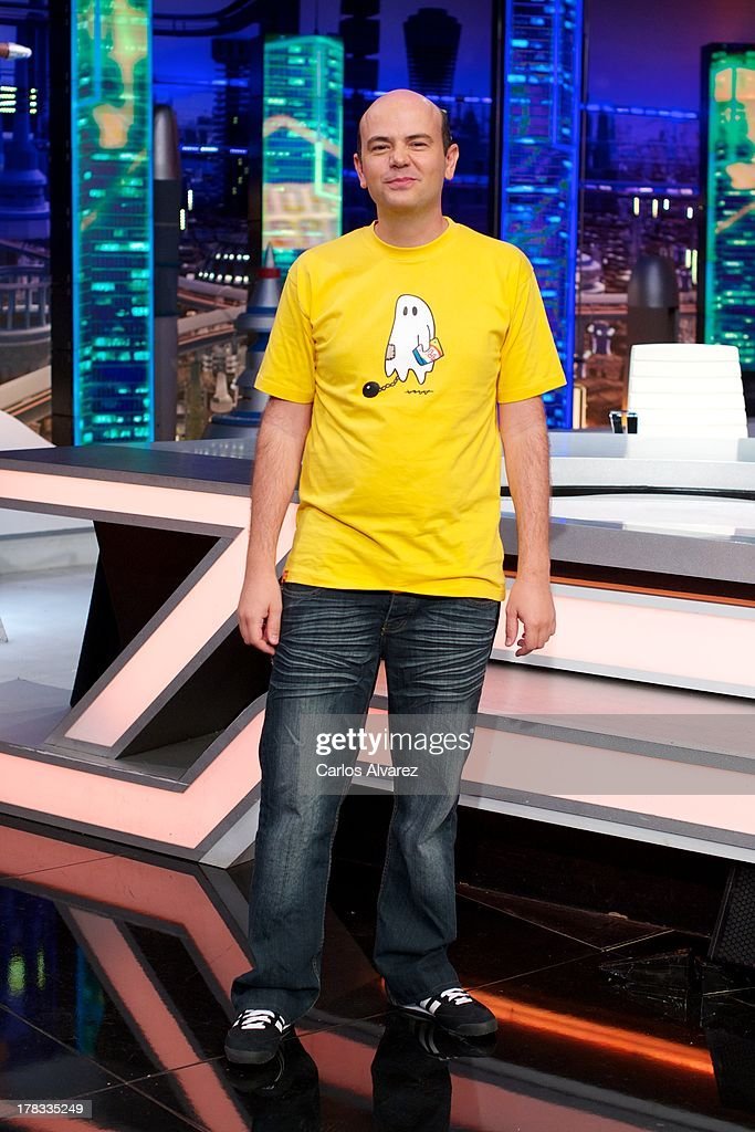 Jandro attends the 'El Hormiguero 3.0' new season presentation at the Vertice Studio on August 29, 2013 in Madrid, Spain.