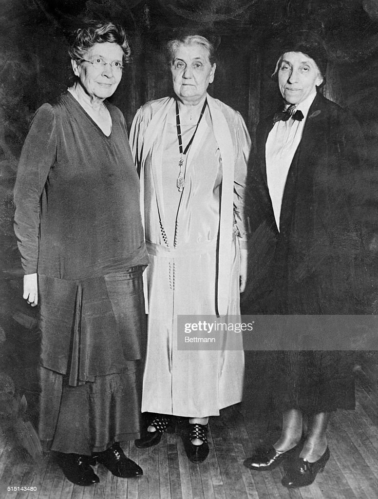 jane addams with friends pictures   getty images