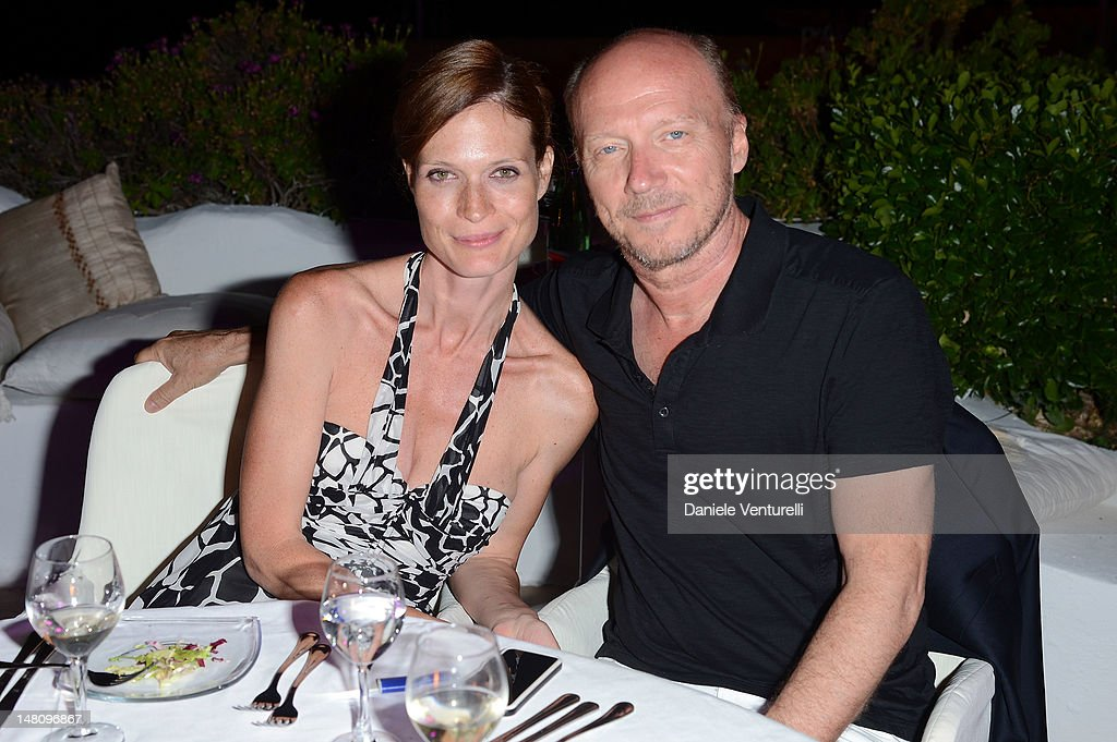 Jane Alexander and <a gi-track='captionPersonalityLinkClicked' href=/galleries/search?phrase=Paul+Haggis&family=editorial&specificpeople=213967 ng-click='$event.stopPropagation()'>Paul Haggis</a> attend Day 2 of the 2012 Ischia Global Fest on July 9, 2012 in Ischia, Italy.