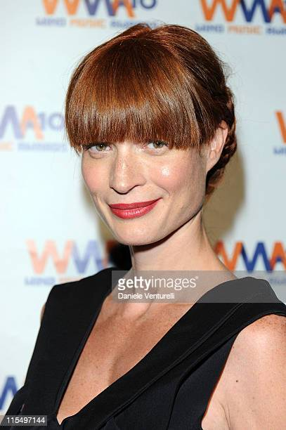 ACCESS *** Jane Alexander attends the Wind Music Awards Backstage at the Arena of Verona on May 29 2010 in Verona Italy