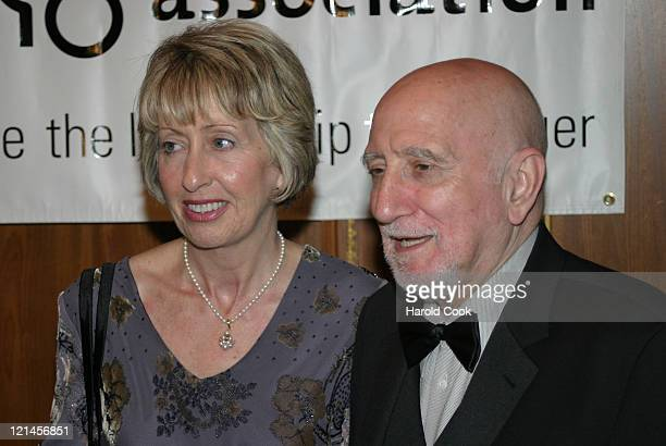 Jane and Dominic Chianese during The 'ForgetMeNot' Gala Benefitting The Alzheimers Association NYC Chapter at The Pierre Hotel in New York New York...