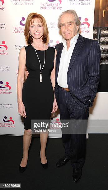 Jane Asher and Gerald Scarfe attend Spectrum 2014 an annual fundraising event in support of the National Autistic Society to launch World Autism...