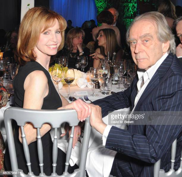 Jane Asher and Gerald Scarfe attends Spectrum 2014 an annual fundraising event in support of the National Autistic Society to launch World Autism...