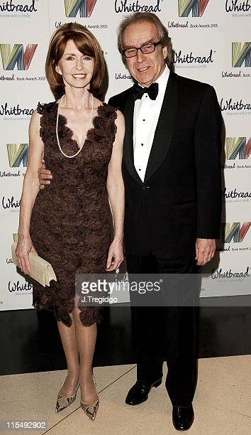 Jane Asher and Gerald Scarfe during Whitbread Book of the Year Award 2005 at The Brewery in London Great Britain