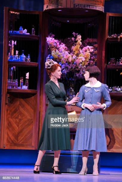Jane Asher as Madame Baurel and Leanne Cope as Lise Dassin in An American in Paris choreographed and directed by Christopher Wheeldon at The Dominion...
