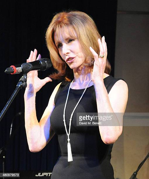 Jane Asher attends Spectrum 2014 an annual fundraising event in support of the National Autistic Society to launch World Autism Awareness Month in...