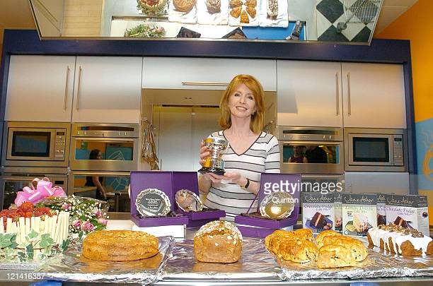 Jane Asher during 2004 Inaugural 'Home Baker of The Year' Final Photocall at Tesco Brookfield Centre in London Great Britain
