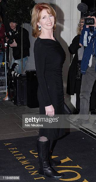 Jane Asher during Evening Standard Theatre Awards Arrivals at The Savoy in London Great Britain