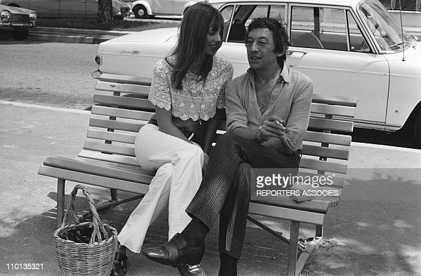 Jane Birkin and Serge Gainsbourg in 1970