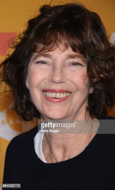Jane Birkin attends the 'Actrices' exhibition opening at the Institut Francais on December 2 2017 in Berlin Germany