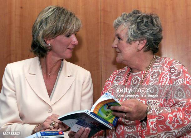 Jane Blackman mother of former air hostess Lucie Blackman who was murdered in Japan and mother of missing Estate Agent Suzy Lamplugh Diana They...
