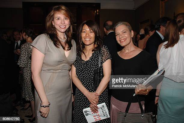 Jane Boon Pearlstine Tracy Quan and Candida Royalle attend Book Party for 'Off The Record' by NORMAN PEARLSTINE at Arader Galleries on June 25 2007...