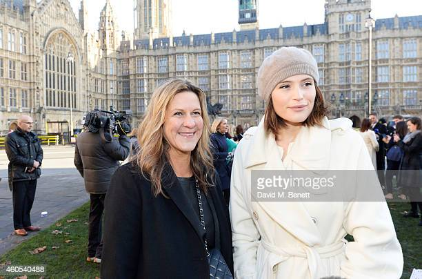 Jane Bruton EditorinChief at Grazia Magazine and Gemma Arterton star of West End musical 'Made In Dagenham' join Grazia Magazine and UNITE to...