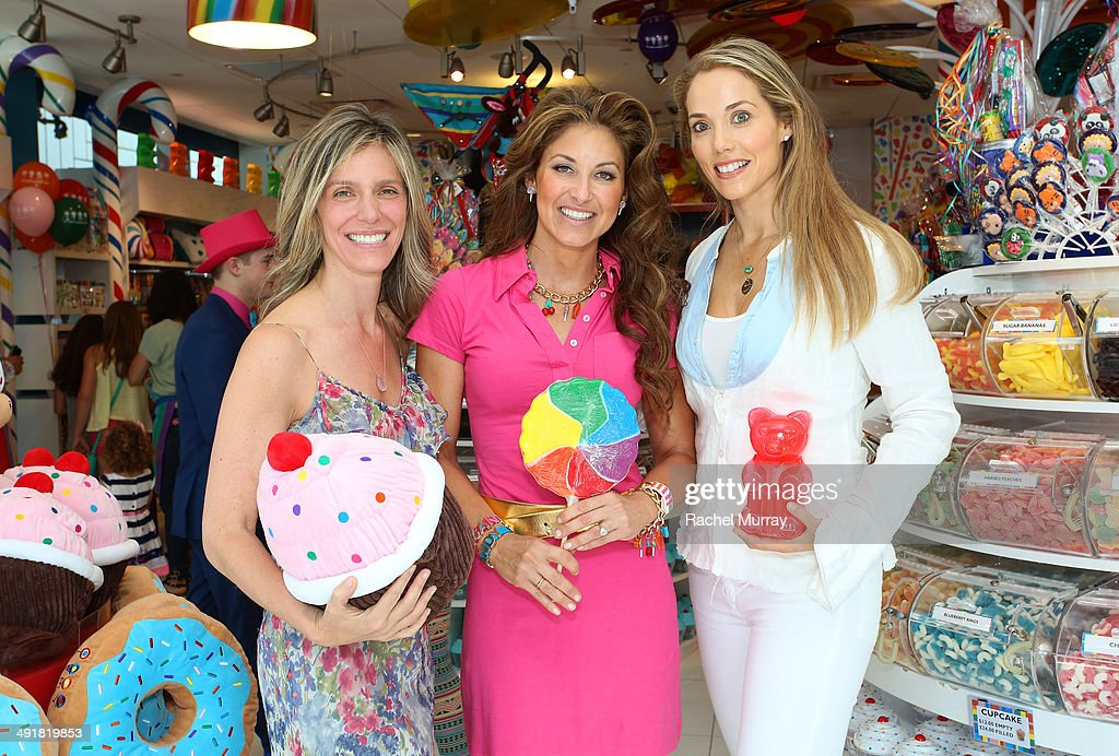 Jane Buckingham, <a gi-track='captionPersonalityLinkClicked' href=/galleries/search?phrase=Dylan+Lauren&family=editorial&specificpeople=243055 ng-click='$event.stopPropagation()'>Dylan Lauren</a> and Elizabeth Berkeley Lauren host Dylan's Candy Bar Candy Girl Collection LA Launch Event at Dylan's Candy Bar on May 17, 2014 in Los Angeles, California.