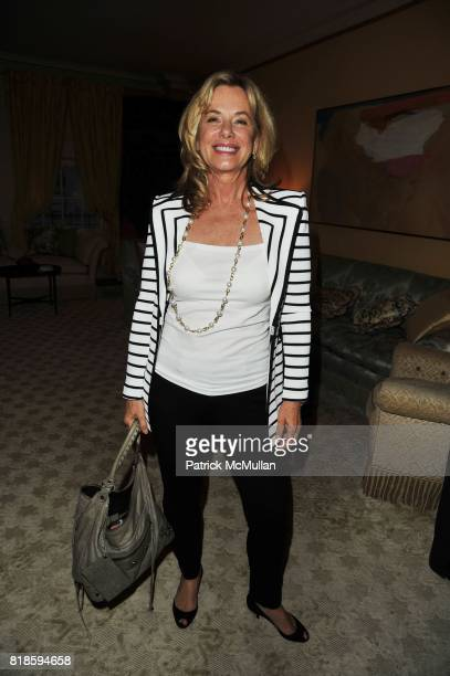 Jane Buffett attends Dinner party to celebrate The Child Mind Institute's 2010 Adam Jeffrey Katz Memorial Lecture Series at The home of Ellen and...