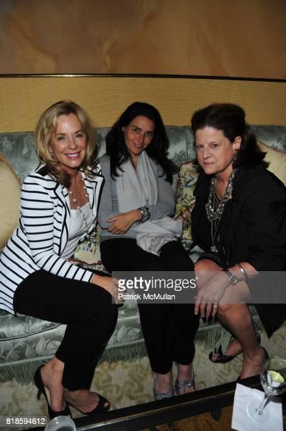 Jane Buffett Claude Wasserstein and Deborah Perelman attend Dinner party to celebrate The Child Mind Institute's 2010 Adam Jeffrey Katz Memorial...