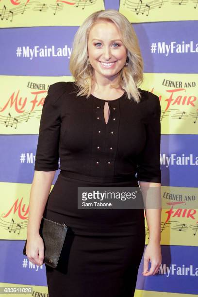 Jane Bunn arrives ahead of opening night of My Fair Lady at Regent Theatre on May 16 2017 in Melbourne Australia