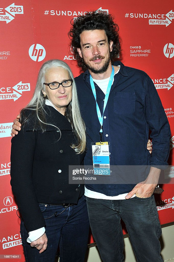 <a gi-track='captionPersonalityLinkClicked' href=/galleries/search?phrase=Jane+Campion&family=editorial&specificpeople=616530 ng-click='$event.stopPropagation()'>Jane Campion</a> and Garth Davis attend the 'Top Of The Lake' premiere at Egyptian Theatre during the 2013 Sundance Film Festival on January 20, 2013 in Park City, Utah.