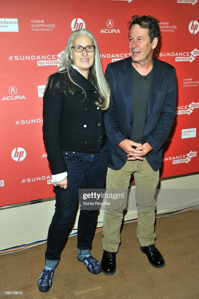<a gi-track='captionPersonalityLinkClicked' href=/galleries/search?phrase=Jane+Campion&family=editorial&specificpeople=616530 ng-click='$event.stopPropagation()'>Jane Campion</a> and Gerard Lee attend the 'Top Of The Lake' premiere at Egyptian Theatre during the 2013 Sundance Film Festival on January 20, 2013 in Park City, Utah.