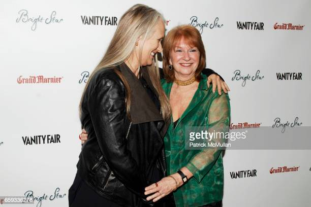 "Jane Campion and Jan Chapman attend VANITY FAIR Apparition host the US Premiere of ""BRIGHT STAR"" at The Paris Theater on September 14 2009 in New..."